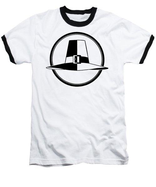 Pilgrim Hat - Tee Shirt Baseball T-Shirt