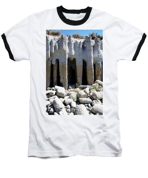 Pillars At Crowley Lake Baseball T-Shirt
