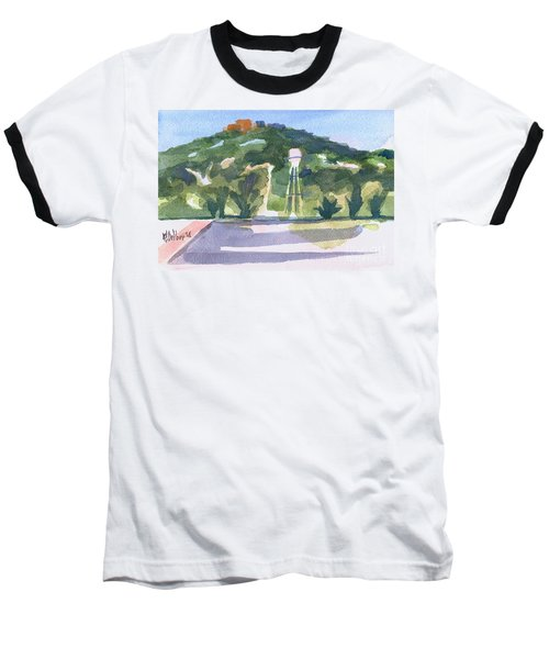Baseball T-Shirt featuring the painting Pilot Knob Mountain W404 by Kip DeVore