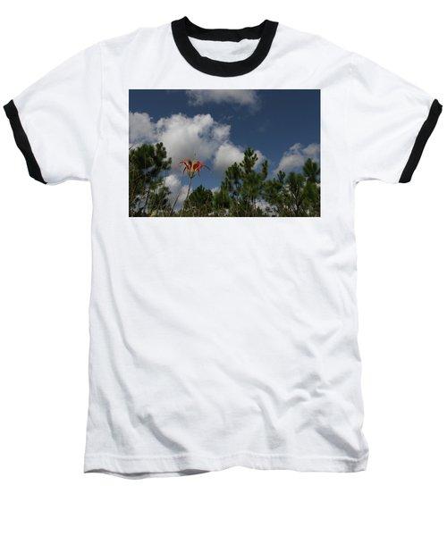 Pine Lily And Pines Baseball T-Shirt