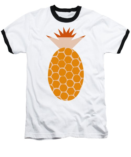 Pineapple Baseball T-Shirt by Frank Tschakert