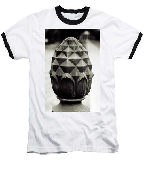 Pineapple, Oak Alley, Vacherie, Louisiana Baseball T-Shirt
