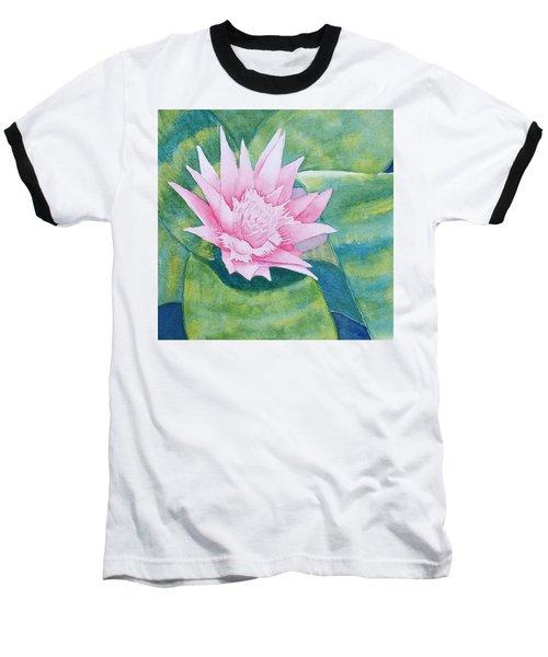 Pink Bromiliad Baseball T-Shirt