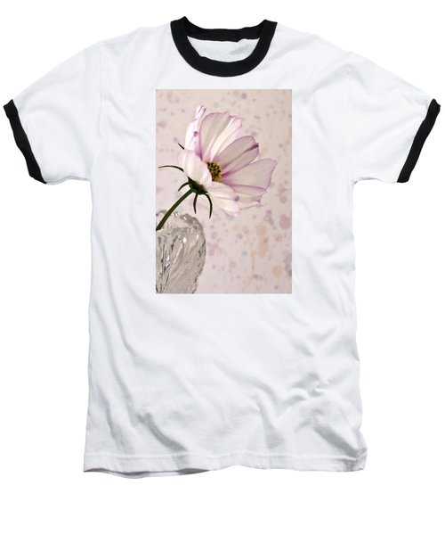 Pink Cosmo - Digital Oil Art Work Baseball T-Shirt
