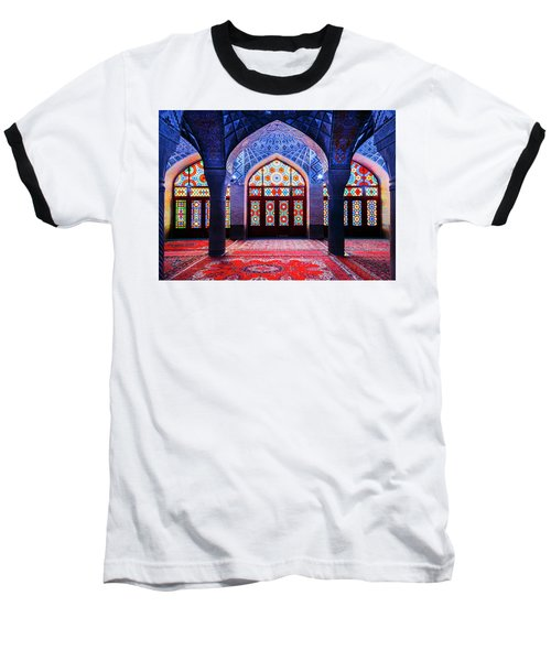 Pink Mosque, Iran Baseball T-Shirt