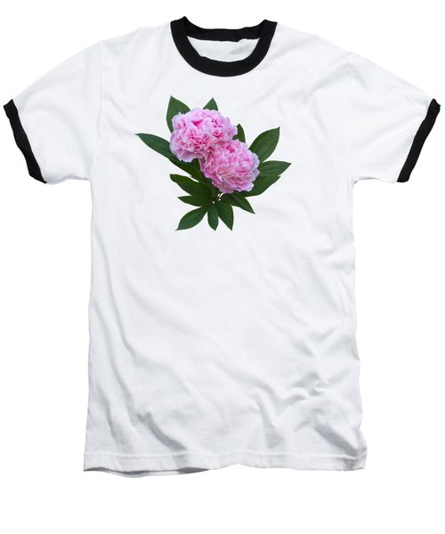 Baseball T-Shirt featuring the photograph Pink Peonies by Jane McIlroy