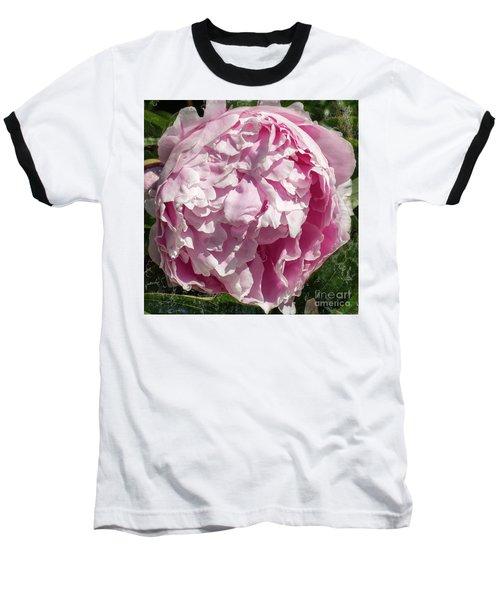 Pink Peony II Baseball T-Shirt