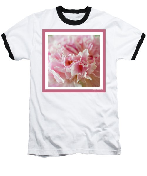 Baseball T-Shirt featuring the photograph Pink Perfection by Wendy Wilton
