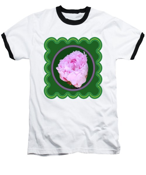 Pink Rose Flower Floral Posters Photography And Graphic Fusion Art Navinjoshi Fineartamerica Pixels Baseball T-Shirt