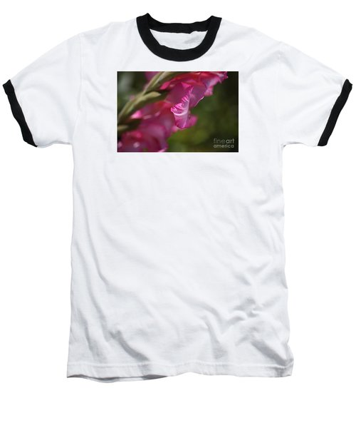 Pink Side Of Gladioli Baseball T-Shirt