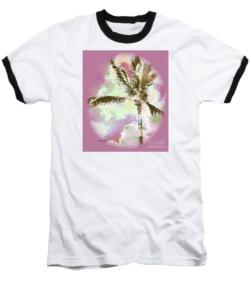 Pink Skies Baseball T-Shirt