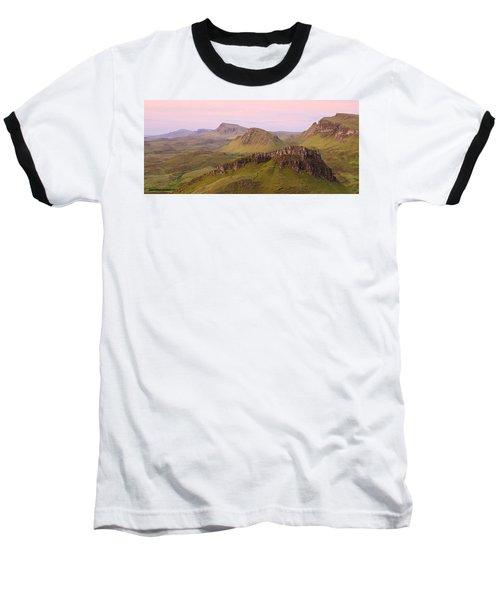 Pink Skye  Baseball T-Shirt