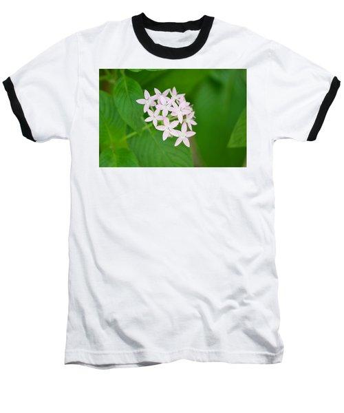 Pink Stars Baseball T-Shirt