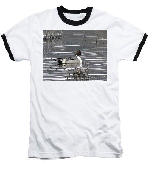 Pintail Duck Baseball T-Shirt