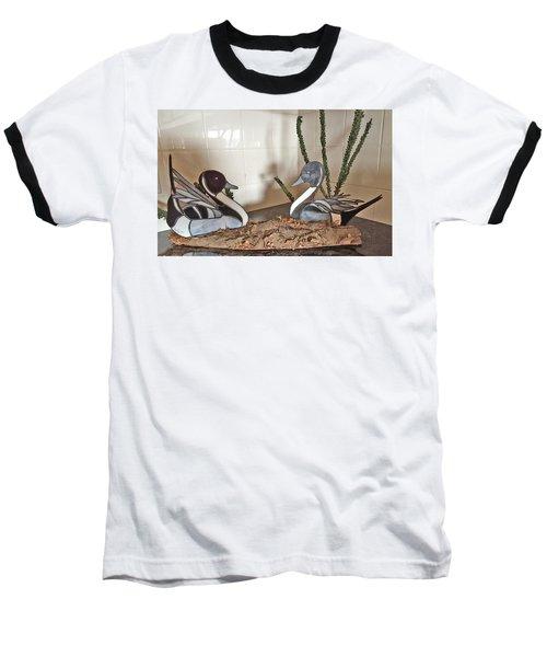 Pintail Ducks Baseball T-Shirt