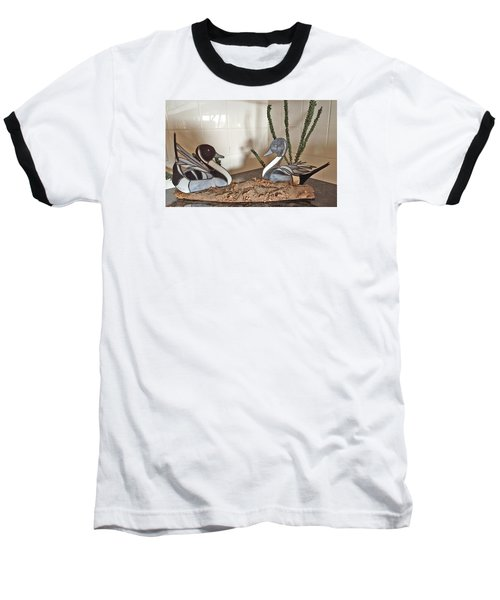 Pintail Ducks Baseball T-Shirt