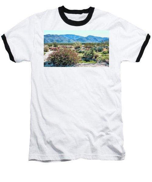 Pinyon Mtns Desert View Baseball T-Shirt