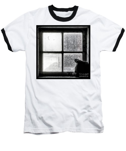 Pitcher In The Window Baseball T-Shirt