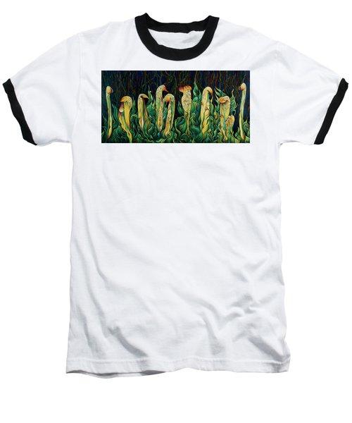 Pitcher Plant Promenade  Baseball T-Shirt