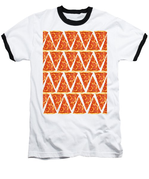 Pizza Slices Baseball T-Shirt