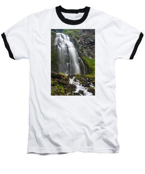 Plaikni Falls Baseball T-Shirt by Greg Nyquist