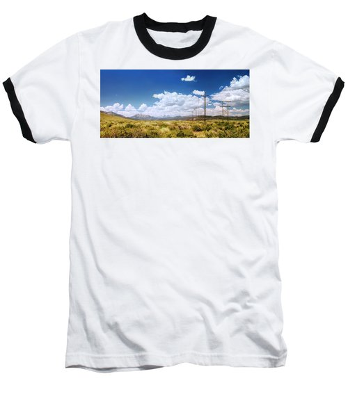 Plains Of The Sierras Baseball T-Shirt