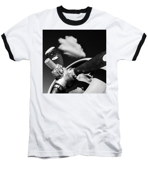 Baseball T-Shirt featuring the photograph Plane Portrait 2 by Ryan Weddle
