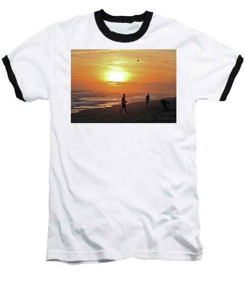 Play On The Beach Baseball T-Shirt