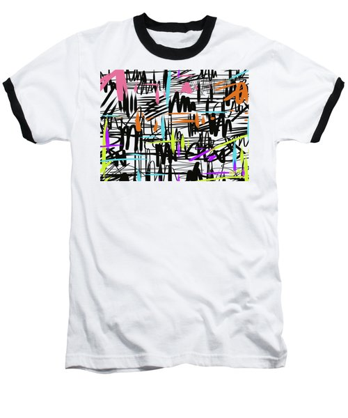 Playful Scribbles Baseball T-Shirt