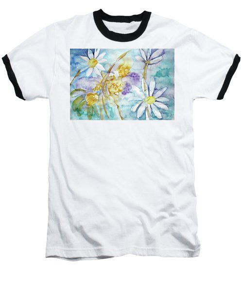 Baseball T-Shirt featuring the painting Playfulness by Jasna Dragun
