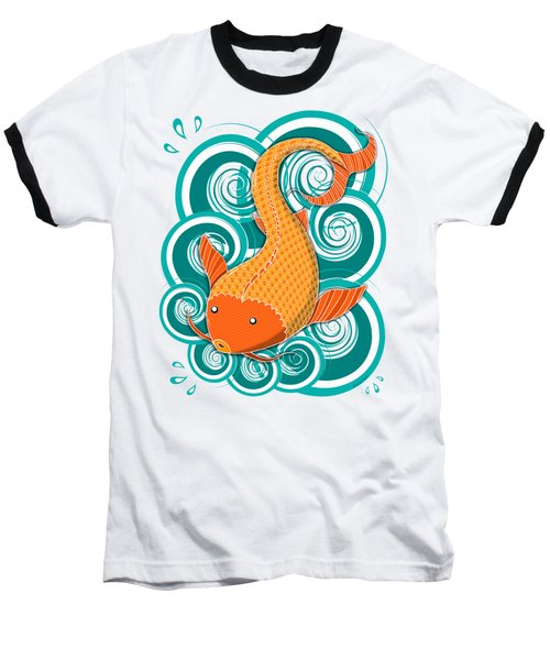 Playing Koi Baseball T-Shirt
