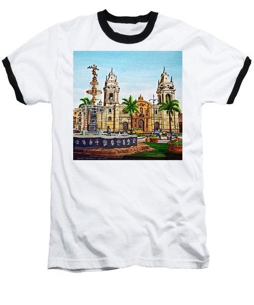 Plaza Armas, Cusco, Peru Baseball T-Shirt