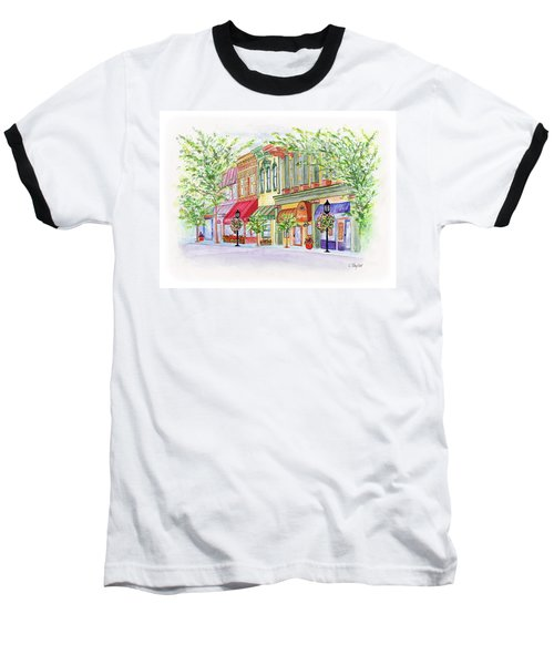 Plaza Shops Baseball T-Shirt