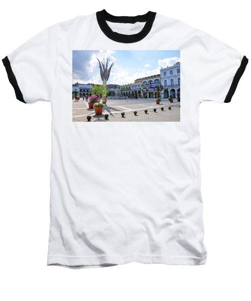 Plaza Vieja Baseball T-Shirt