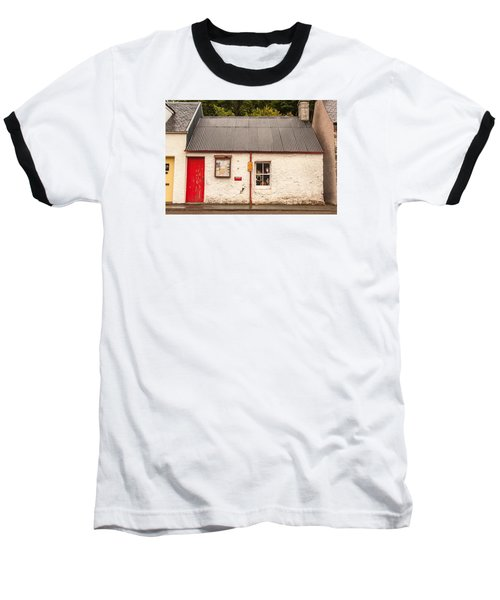 Plockton Cottage Baseball T-Shirt