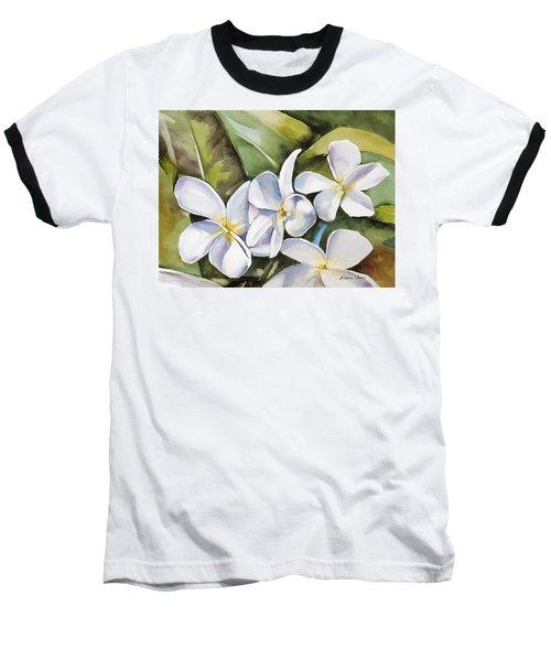Plumeria II Baseball T-Shirt