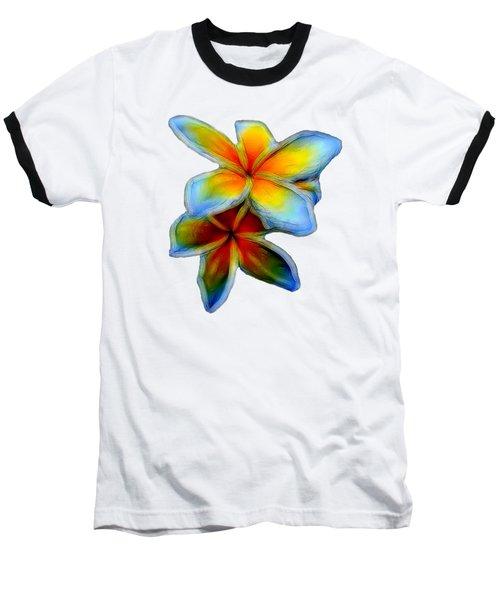 Plumerias Baseball T-Shirt