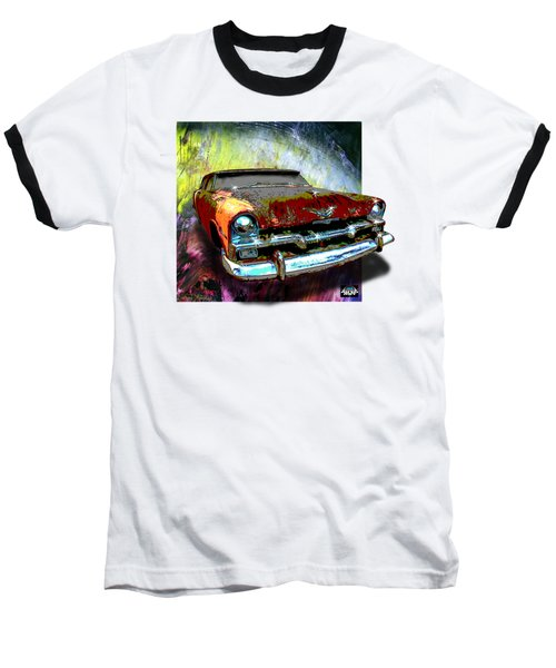Plymouth From The Past Baseball T-Shirt