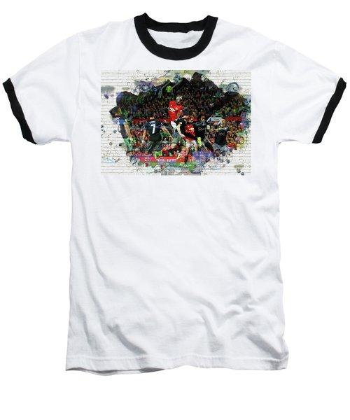 Pogba Street Art Baseball T-Shirt