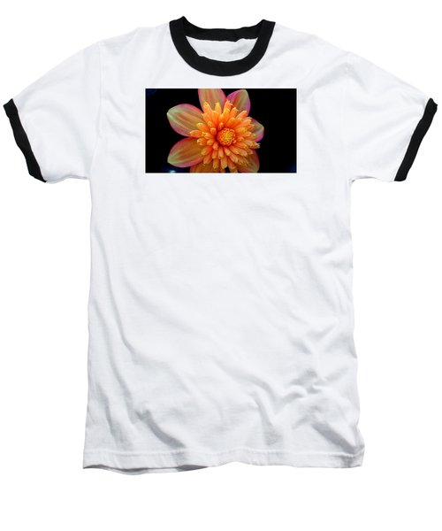 Point Defiance Dahlia Baseball T-Shirt