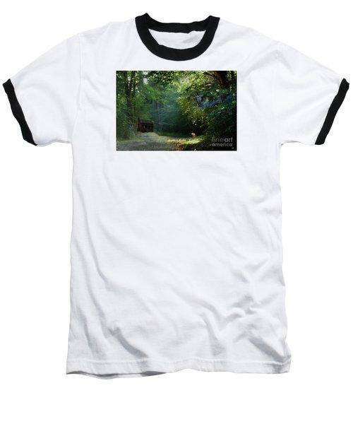 Pointing The Way Baseball T-Shirt