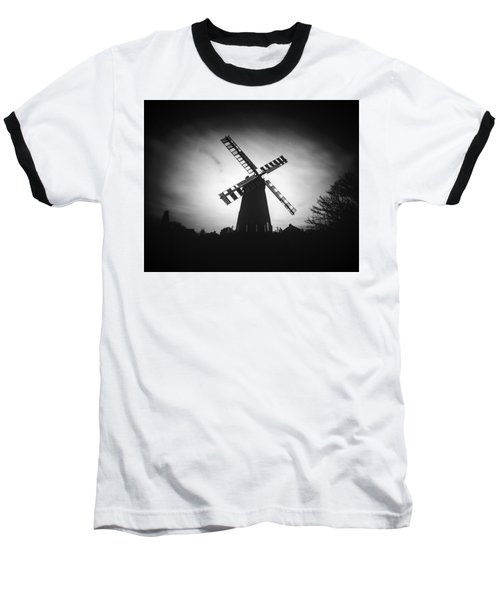 Polegate Windmill Baseball T-Shirt