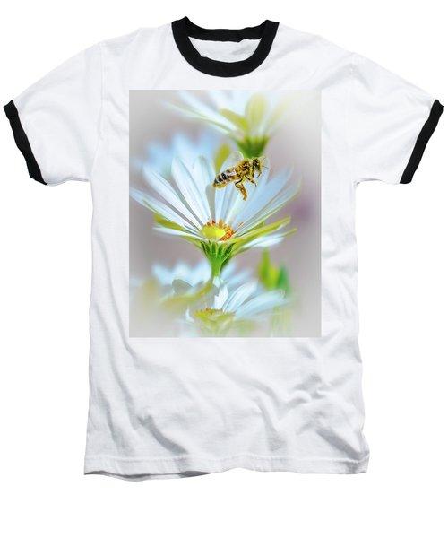 Pollinator Baseball T-Shirt by Mark Dunton