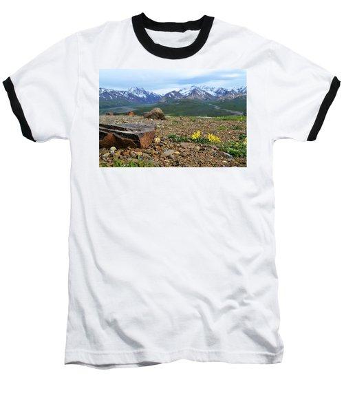 Polychrome Pass, Denali Baseball T-Shirt