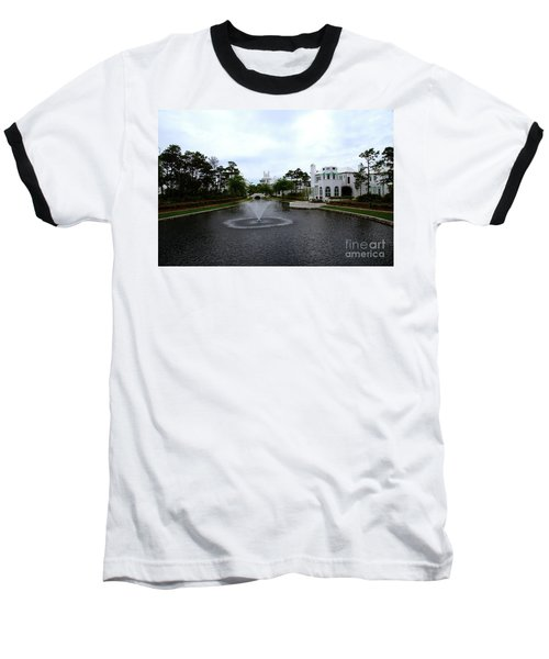 Pond At Alys Beach Baseball T-Shirt