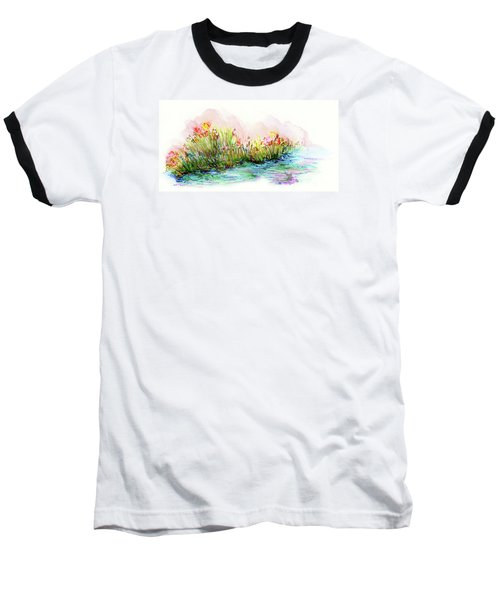 Sunrise Pond Baseball T-Shirt