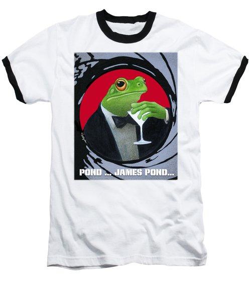 Pond...james Pond... Baseball T-Shirt