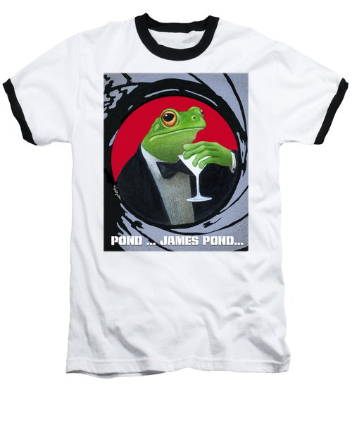 Pond...james Pond... Baseball T-Shirt