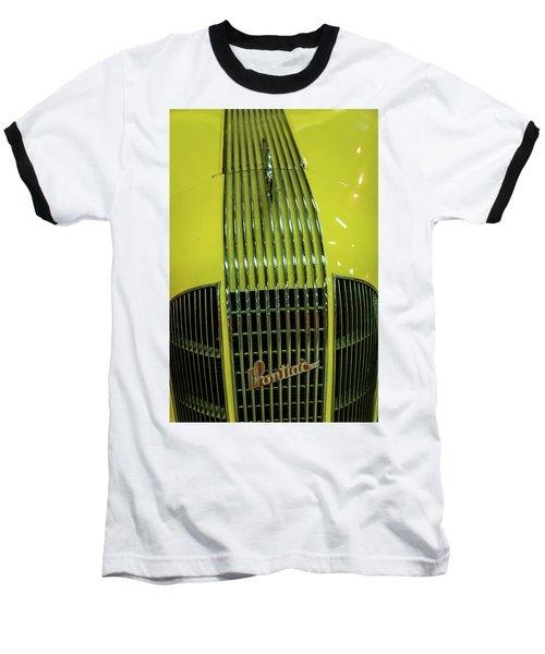 Pontiac Baseball T-Shirt