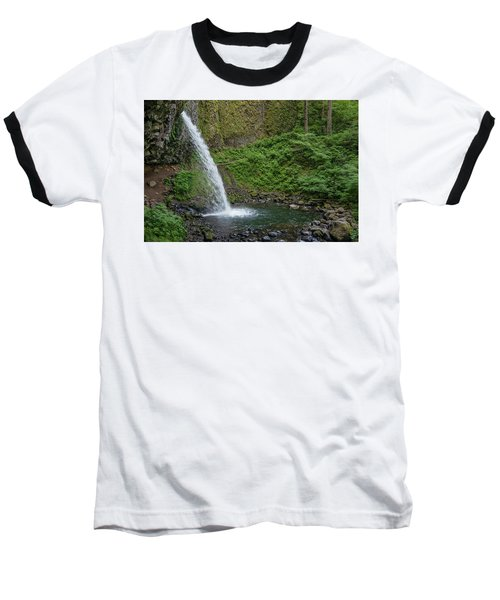Baseball T-Shirt featuring the photograph Ponytail Falls by Greg Nyquist